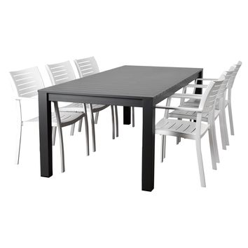 Atlantic Noordam 7 Piece Rectangular Patio Dining Set