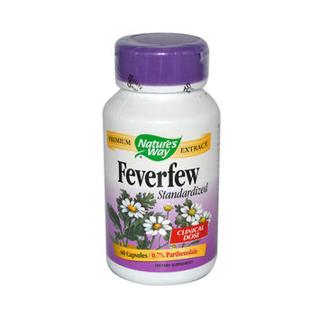 Nature's Way Feverfew - 60 Caps