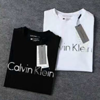 Calvin Klein Men Fashion Cartoon Print Casual Blouse Tee Top G-A-XYCL