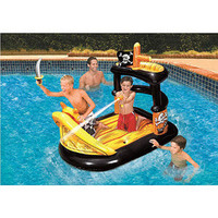 Walmart: Banzai Ahoy Matey Pirate Ship Pool Raft Float