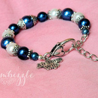 Air Force Wife, Air Force wife bracelet, Air Force wife jewelry, Air Force gifts, I love my Airman