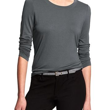 Banana Republic Womens Factory Long Sleeve Tee