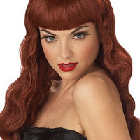 Red Pin Up Girl Wig