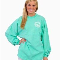Southern Shirt Company Jersey Pullover in New Mint