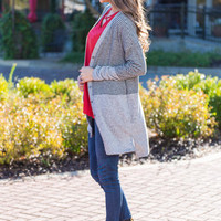 Something About You Cardigan, Gray