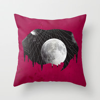 My thoughts exactly.. (space cadet) Throw Pillow by DuckyB (Brandi)
