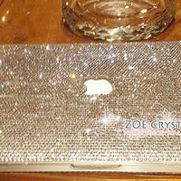 Bling and Stylish MACBOOK Pro / Air / Retina  White Crystal CASE