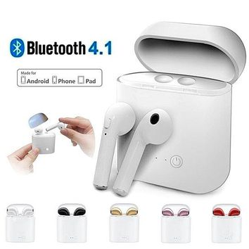 Twins Wireless Earbuds Bluetooth Stereo Headsets