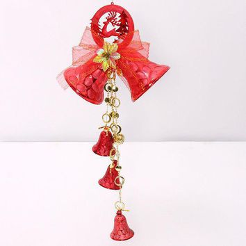 Christmas Decoration Jingle Bells Festival Party Xmas Tree Ornament (size: 60 Cm) [9416308164]
