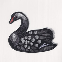 Black Swan Iron-On Patch