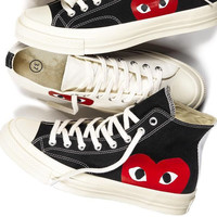 PLAY High-tops &low-tops canvas shoes H-CSXY