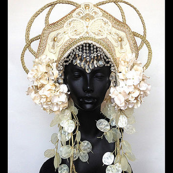 MADE TO ORDER Empress Headdress