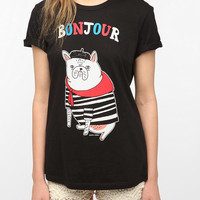 Urban Outfitters - Gemma Correll Bonjour French Bulldog Tee
