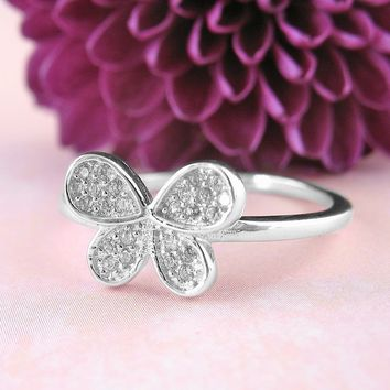 Delightful Butterfly Ring