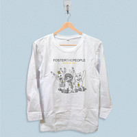Long Sleeve T-shirt - Foster The People Pumped Up Kicks