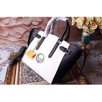 FENDI PEEKABOO LEATHER HANDBAG SHOULDER BAG