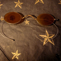 Victorian STEAMPUNK SHARP SHOOTER Glasses, Goggles Antique very rare