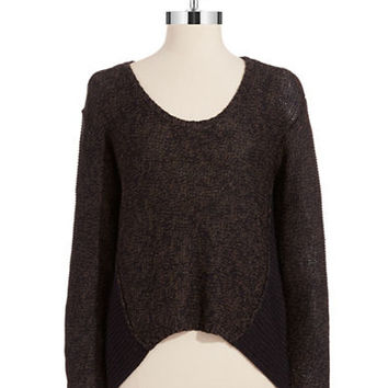 Rd Style Hi Lo Knit Sweater