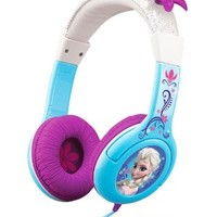 KIDdesigns Disney Frozen Cool Tunes Headphones