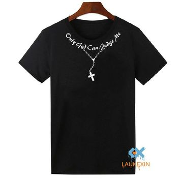 TUPAC Only God Can Judge Me  T Shirt