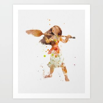 Moana Art Print by artsaren
