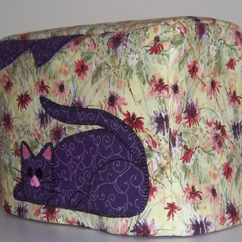 Kitty Toaster Cover - 2 Slice Toaster - Cover