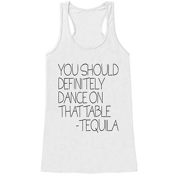 Custom Party Shop Womens Tequila Funny Tank Top