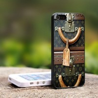 Louis Vuitton Vintage luggage - For iPhone 5 Black Case Cover