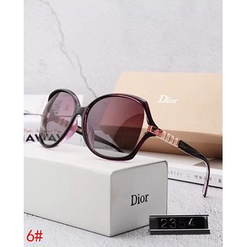 Dior Stylish Ladies Elegant Summer Sun Shades Eyeglasses Glasses Sunglasses 6# I12883-1