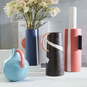 Colorblock Vases