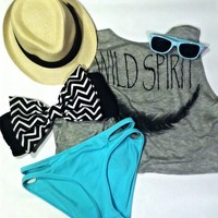 Chevron Bowkini Top from The Bowkini