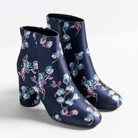 Juliet Floral Ankle Boot | Urban Outfitters