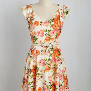 Lunch and Laughter Dress | Mod Retro Vintage Dresses | ModCloth.com