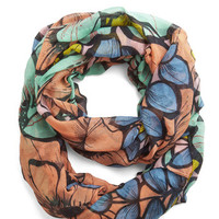 Boho At a Blossom for Words Circle Scarf by ModCloth