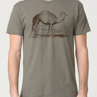 Husband Gift CAMEL MENS T-shirt Graphic Tee Boyfriend Gift Casual Cool Animal Shirt Husband Gift