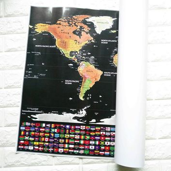 Best Scratch Off Maps Products On Wanelo - Scratch off us state maps with pencil