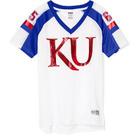 University of Kansas Game Day Jersey - PINK - Victoria's Secret