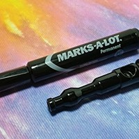 Hi Liter Magic Marker Pen Pipe Jet Black