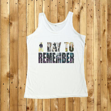 A Day To Remember Shirt Women Tank Top Tshirt Size S, M, L