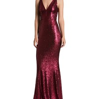 Dress the PopulationSequin Gown