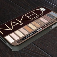 Naked Palette - Girly Make Up - Print On Hard Cover For iPhone 4,4S