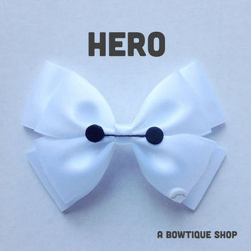 hero hair bow