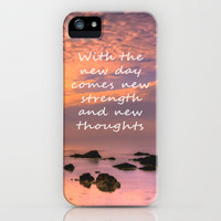 A New Day iPhone Case for iphone 5, 4S, 4, 3GS, 3G by Alice Gosling | Society6