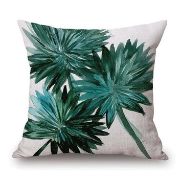 African Nature Cushion Covers - 43x43cm (Flower 1)