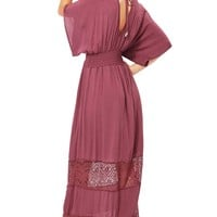 Candle Light Maxi Dress