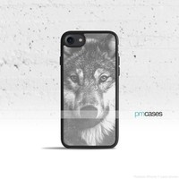 Vintage Wolf Phone Case Cover for Apple iPhone iPod Samsung Galaxy S & Note