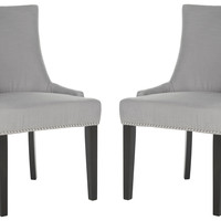 Ash Lester Dining Chairs, Pair, Side Chairs