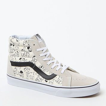 Vans - Disney Sk8-Hi 101 Dalmatians Shoes - Mens Shoes - White