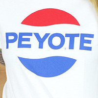 Peyote T-Shirt (white)
