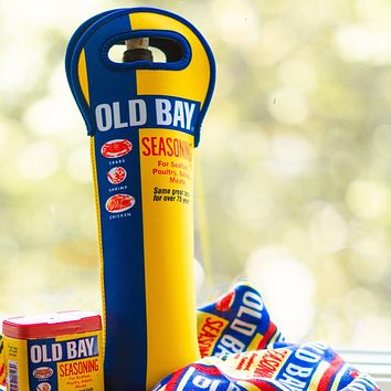 Old Bay Can / Wine Bottle Koozie